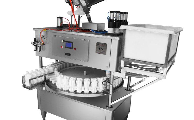 پرکن و در بند روتاری مخصوص مواد اسیدی و خورنده 800x495 - دستگاه پرکن و در بند روتاری مواد اسیدی توان صنعت