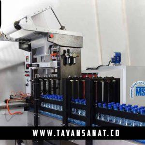 شیرینگ-پک-شل-آب-معدنی-دستگاه-شلکن-بطری-بسته-بندی-دوغ-بطری-شیرینگ-تونلی-