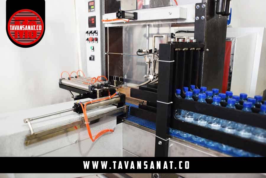 خط تولید آب معدنی ساخت شرکت آلمانی KHS با ظرفیت ۷۲.۰۰۰ بطری در ساعت                   shirink pack