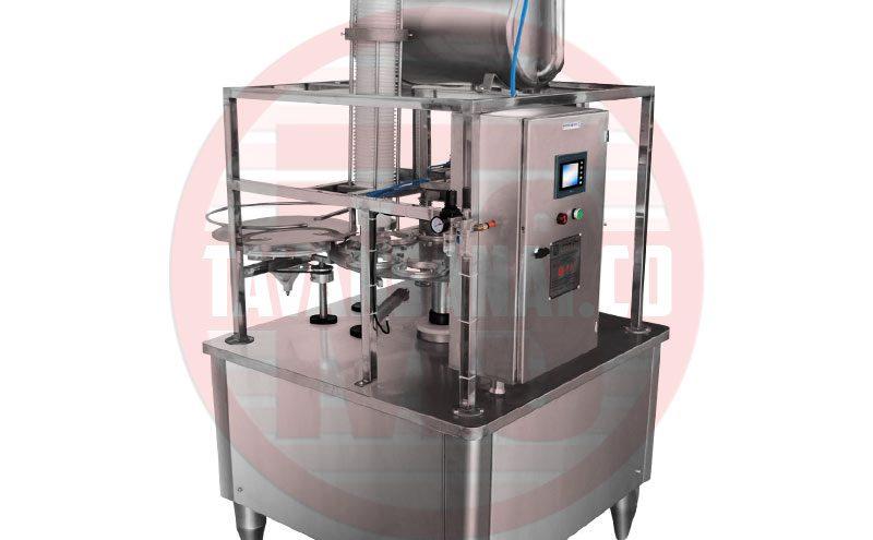 دستگاه پرکن  دستگاه پرکن لیوانی مخصوص لبنیات توان صنعت                                                                 800x495