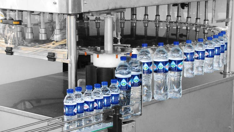 دوغ –پرکن آب معدنی –پرکن ضدیخ –پرکن آبمیوه ماشین سازی توان صنعت مشهد رضا نیازمند - خط تولید آب معدنی ساخت شرکت آلمانی KHS با ظرفیت ۷۲.۰۰۰ بطری در ساعت