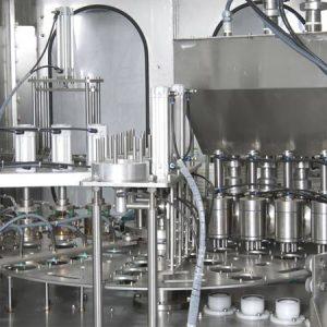پرکن ظروف لیوانی روتاری (چهار لاین)ماشین سازی توان صنعت مشهد