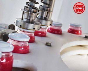 دستگاه پرکن و دربند مایعات غلیظ توان صنعت                                 300x243