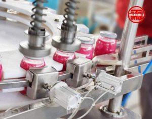 دستگاه پرکن و دربند مایعات غلیظ توان صنعت                             300x236