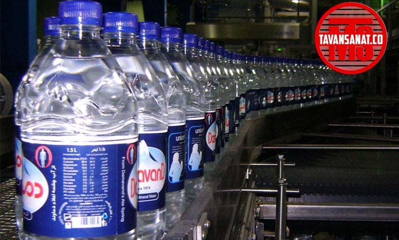 آب معدنی توان صنعت دستگاه پرکن 09152010748 822x495 - خط کامل پرکن اب معدنی و ابمیوه توان صنعت