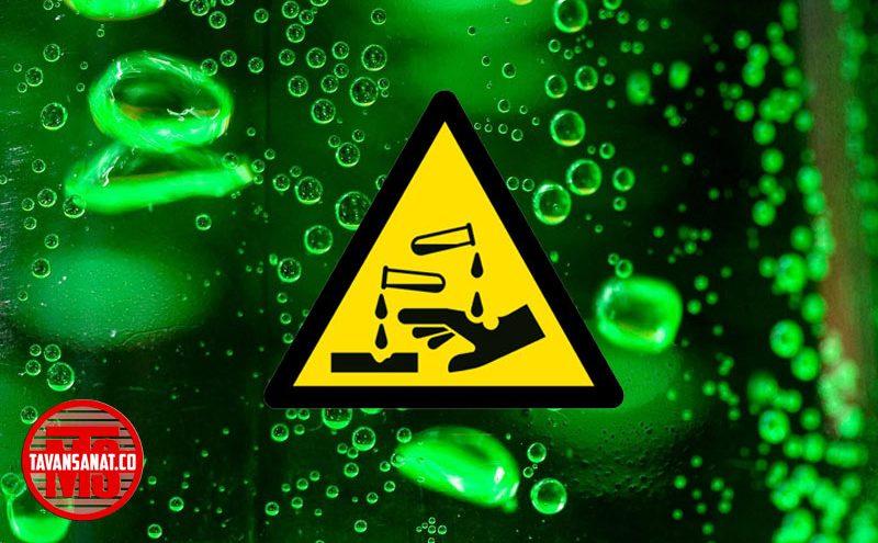 اسید توان صنعت 800x495 - دستگاه پرکن اسید نیمه اتومات توان صنعت