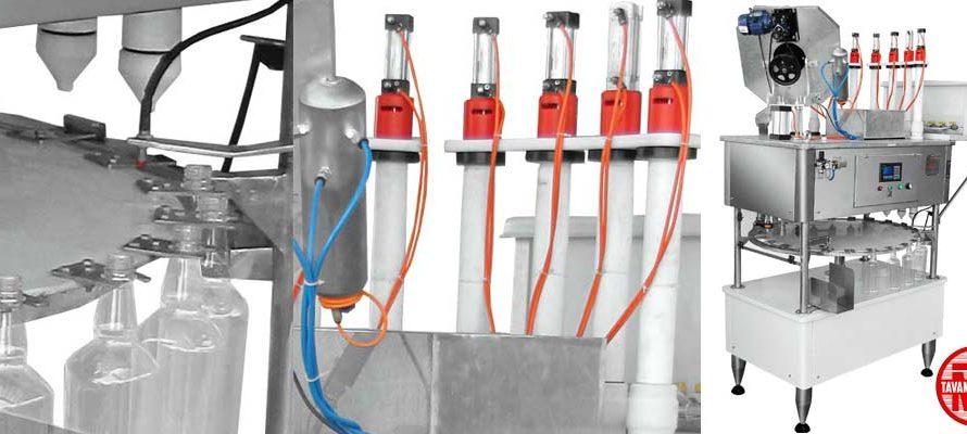 پرکن اسید و مایعات اسیدی 890x400 - دستگاه پرکن اسید توان صنعت