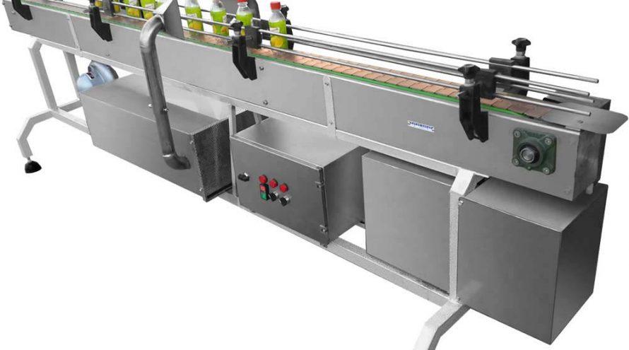 لیبل زن و شیرینگ لیبل توان صنعت 890x495 - دستگاه شیرینگ لیبل تونل مخفی برقی توان صنعت