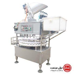 دستگاه پرکن  دستگاه پرکن اسید و جوهرنمک توان صنعت                                                                     300x300