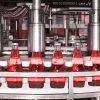 درب بند شیشه دستگاه دربند شیشه خط کامل پرکن تخم شربتی توان صنعت