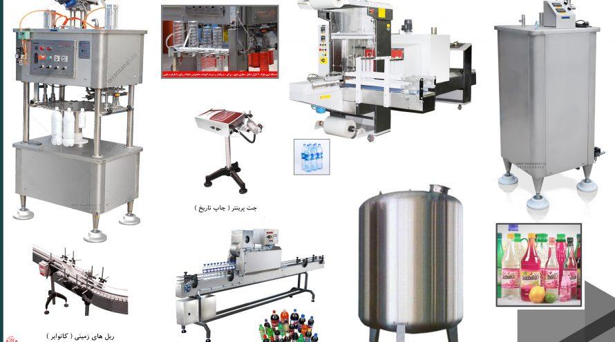 عرقیات پرکن شربت دستگاه پرکن توان صنعت 890x495 - خط پرکن و بسته بندی عرقیات و شربت