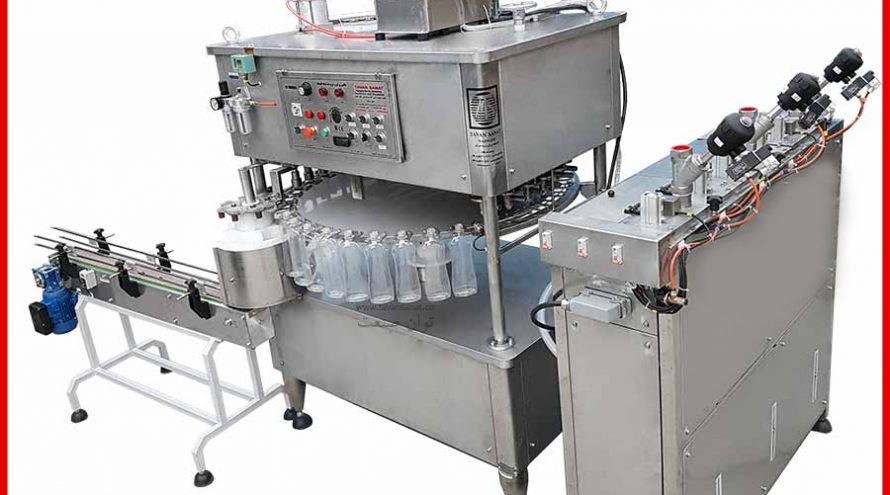پرکن مایعات غلیظ عسل مایع ظرفشویی روغن های خوراکی ، شربت غلیظ مایعات غلیظ دارویی شیمیایی و غذایی 1 890x495 - خط تولید مواد شوینده